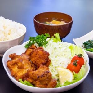 高カロリーチャレンジ5 から揚げ定食