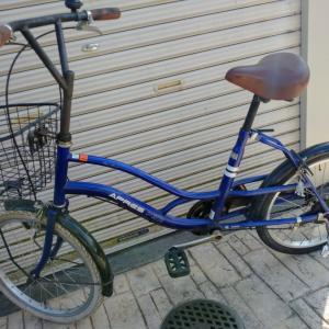 自転車のパンク修理に行ったら、おしゃれな色使いになった