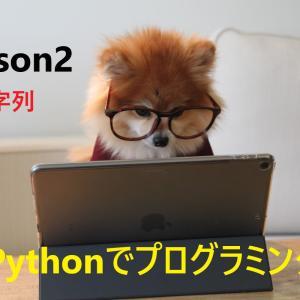 【Python初心者必見   詳しいコード付き】これで文字列を完全マスターだ!
