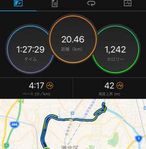 【Race Report】鶴見川風の音マラソン/Tsurumi River Wind Sound Marathon_2020.11.1