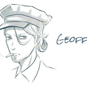 【イラスト】制服警官ジェフリー・レト『Loose Lips(SIDE:foggy)』