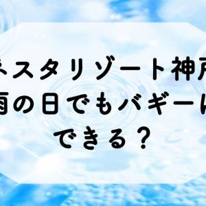ネスタリゾート神戸/雨の日でもバギーは出来る?室内アクティビティも充実!