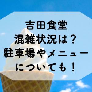 吉田食堂(福井県越前市)の混雑状況は?駐車場やメニューについても徹底調査!