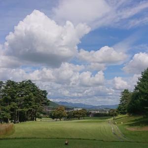 絶好のゴルフ日和だった
