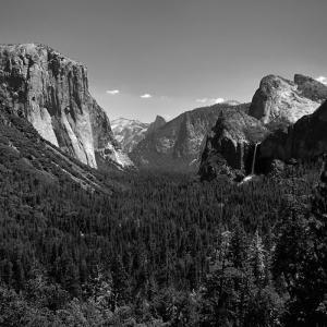 Yosemite valley, USA, 2017, homage to Ansel Adams