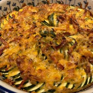 ズッキーニのグラタン/Zucchini Bake