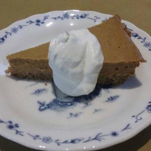 ヘルシーパンプキンパイ/Healthy Pumpkin pie
