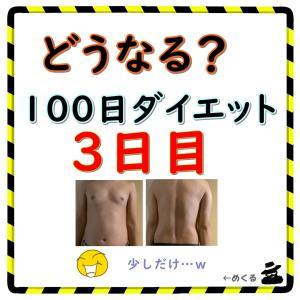 【微痩せ】100日ダイエット3日目(残り97日)