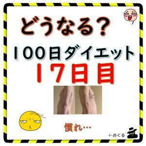 【微リバウンド・パンケーキ食べた】100日ダイエット17日目(残り83日)