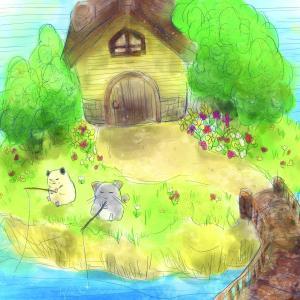 【お絵描き】のんびり釣りチラハムその2