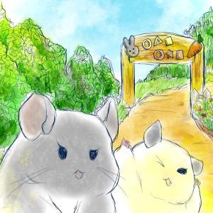 【お絵描き】レジャーを楽しむチラハム
