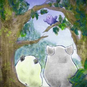 【お絵描き】とりさんとチラハム