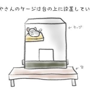 【絵にっき】ケージ置き場