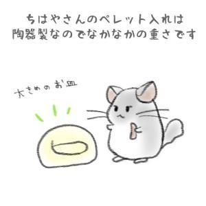 【絵にっき】お皿の位置が