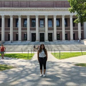 娘と一緒にハーバード大学のメインキャンパスを訪れてみた