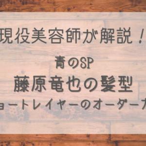 青のSP藤原竜也の髪型ショートレイヤーのオーダー方法を現役美容師が解説!
