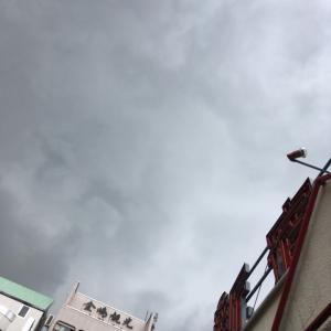 豪雨のバッティングセンター