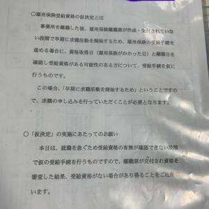 リアル雇用保険法【失業等給付編~その①】