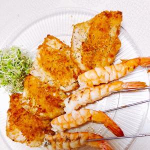 肉も魚もオリーブオイルで焼きます
