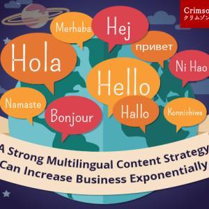 綿密な多言語コンテンツ戦略によるビジネスの拡大