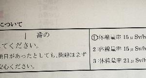 「アイソトープ入院 3日目」癌闘病記その73