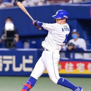 京田が3番手・及川から中前打
