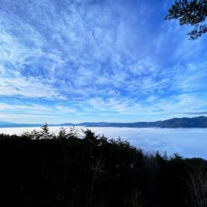 下手したら今年最後の雲海か
