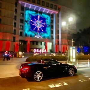 MercedesBenzSL400AMGline 大阪・光の饗宴2020御堂筋イルミネーション