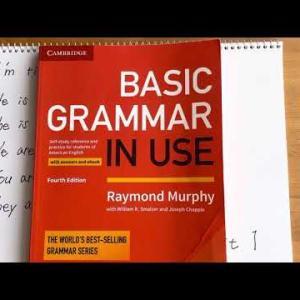 基礎英語:BASIC GRAMMER IN USE Unit1