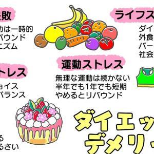 図解16:ダイエットのデメリット