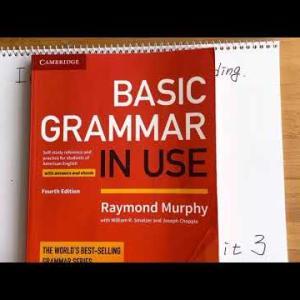 基礎英語:BASIC GRAMMAR IN USE:Unit3