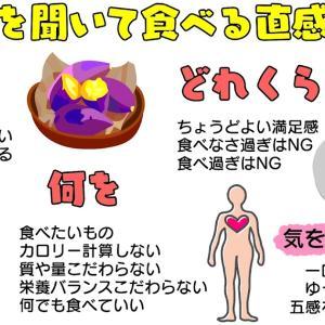 図解21:体の声を聞いて食べる直感的食事