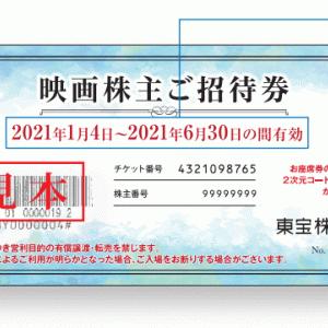 【東宝(9602)の株主優待】映画株主ご招待券!クロス取引での取得方法とコストシミュレーション