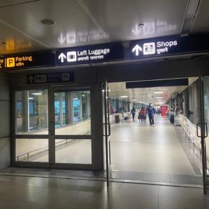 デリー空港でのPCR検査