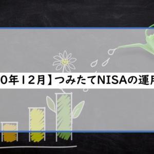 【2020年12月(12ヶ月目)】つみたてNISA運用実績