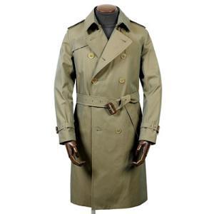 新着のコートとセール情報、グレンフェル GRENFELL 高密度コットンギャバジンコート