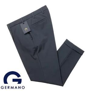 便利で動きやすいジェルマーノ GERMANO スーパーストレッチテクノ1プリーツパンツ