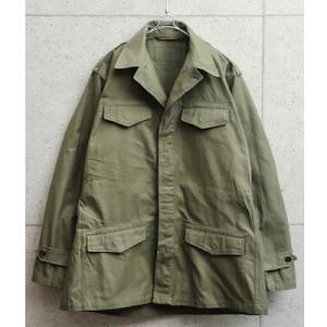 ミリタリーの名作ジャケット実物 USED フランス軍 M-47 フィールドジャケット 前期型 コットン製