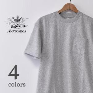 通年着れるポケットTシャツ アナトミカ【ANATOMICA】POCKET TEE MADE IN JAPAN