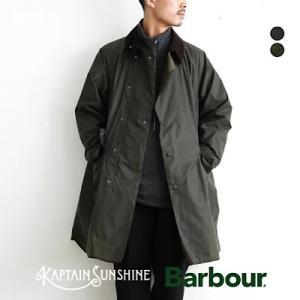 今シーズンのコラボ キャプテンサンシャイン×バブアー  KAPTAIN SUNSHINE × Barbour 3/4 Coat 3種類