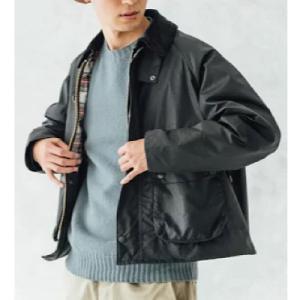 短い着丈のタイプの【Barbour】 BLYTH オイルドジャケットSPEYスペイジャケット