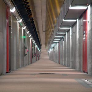 新潟ランニングスポット(新潟みなとトンネル)