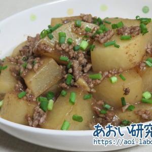 大根とひき肉の煮物 / ガラムマサラ