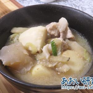 料理日記 79 / 庄内風芋煮 (味噌×豚肉)
