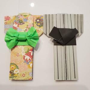 浴衣の帯の折り方作り方☆折り紙1枚の結び方をマスターするとグッと素敵に!