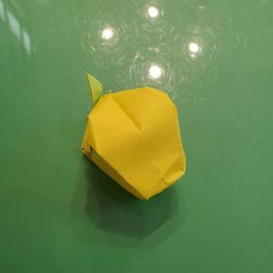 折り紙の梨 立体的でかわいい!リアルな折り方作り方★ちょっと難しい本格派向け