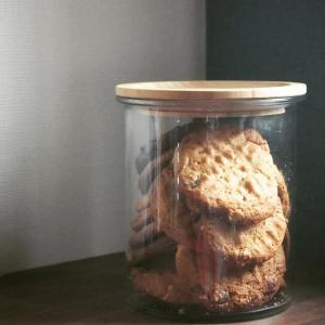 チョコチップ入ピーナッツバタークッキー♡