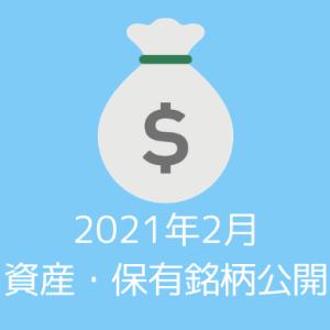 【資産・保有銘柄公開】20代夫婦の2021年2月時点の資産すべてを公開