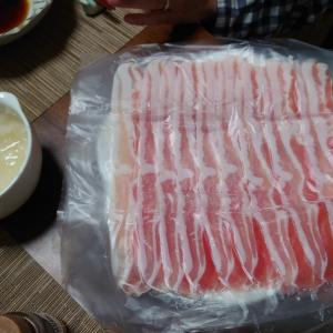 豚すき  鍋料理  家呑み