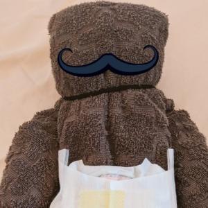 057: UK妊婦生活 予定日まであと44日 タオルベビー人形の作り方と活用方法